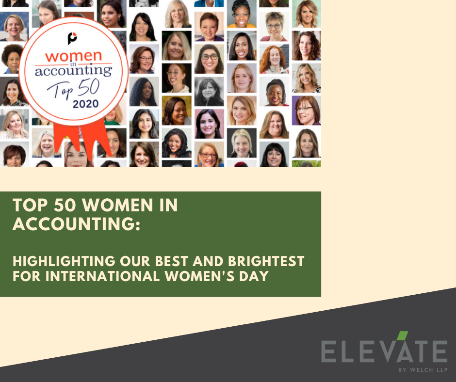 Top 50 women in accounting