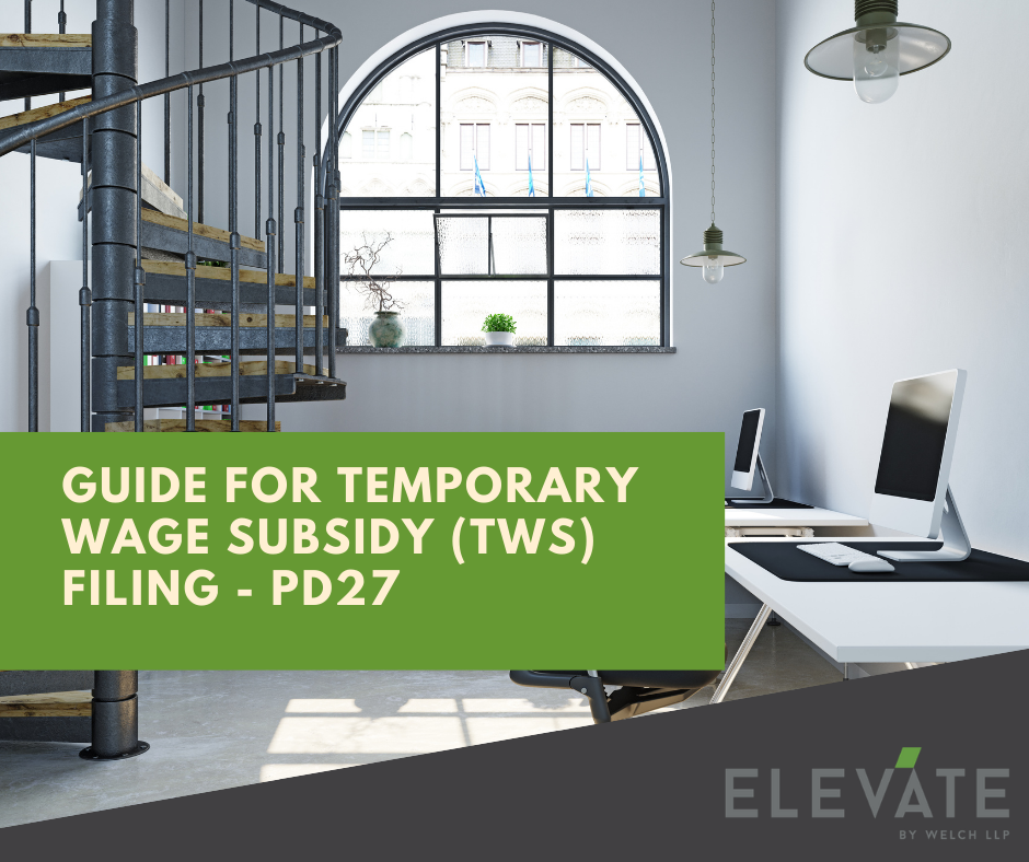 Benefit from the 10% Temporary Wage Subsidy in 2020? Find out how to file form PD27. Not sure how?