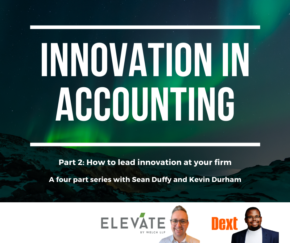 Innovation in Accounting