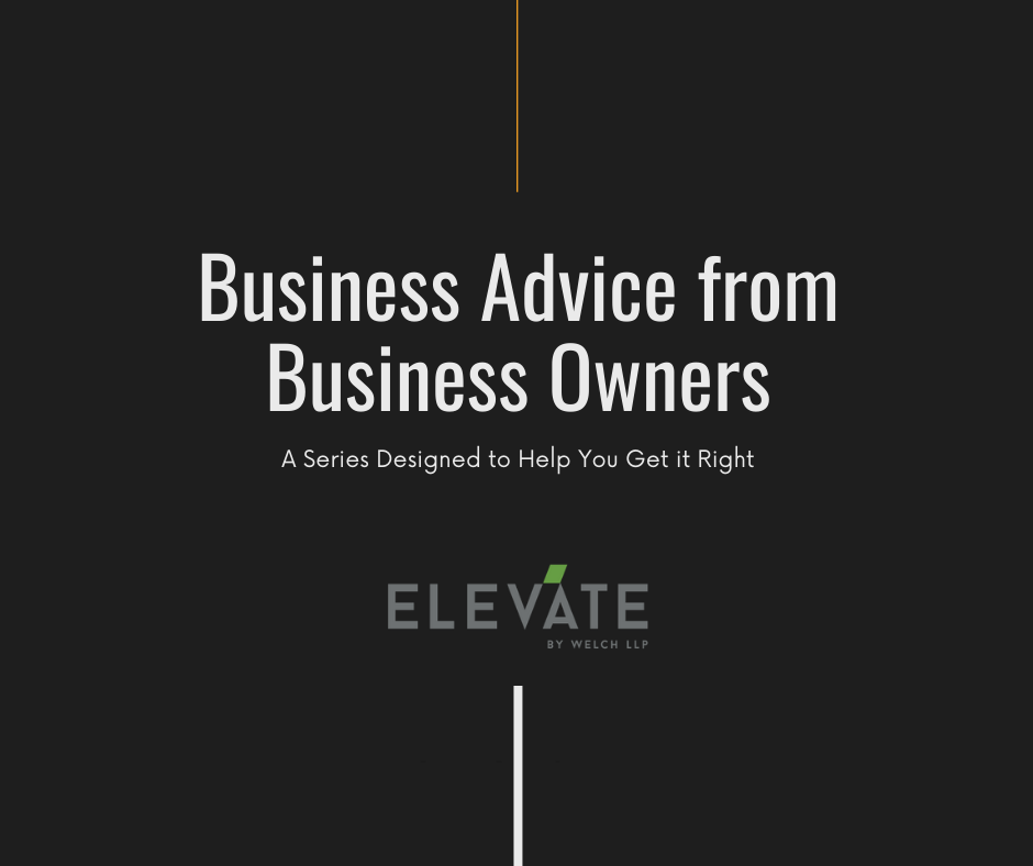 Business Advice from Business Owners